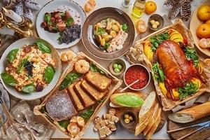 Праздничные блюда навынос от ресторанов Москвы