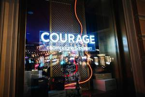 Courage Champagne & Oyster Bar