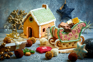 Сладкое Рождество в кондитерской Бруно Марино
