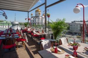 Веранда в ресторане «Воронеж»
