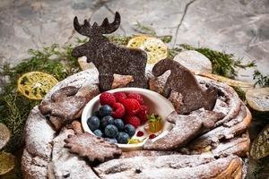 Рождество в ресторане Cacciatore