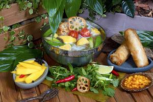 Фестиваль «Ни рыба, ни мясо» в кафе Lao Lee