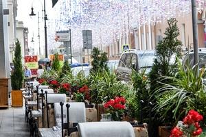 В ресторане Villa Pasta (на Дмитровке)