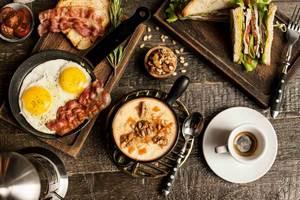 Ранние завтраки в ресторане «Хищnik»