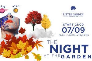 Афиша ресторана Little Garden Kitchen&Bar на 05 сентября - 08 сентября 2019г.