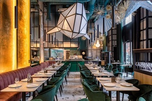 «Глубина 11022»: новый рыбный ресторан на Трехгорной мануфактуре