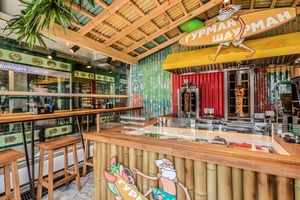 «Гурман Шаурман» - дерзкое и позитивное кафе на Проспекте Мира