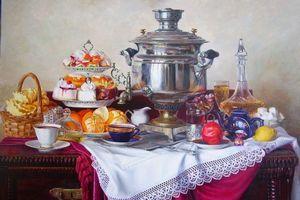 Арт-ресторан «Репин» 16 марта запускает регулярные «Репинские чаепития»