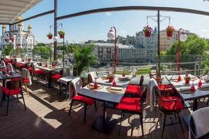 Летние веранды в ресторанах Москвы