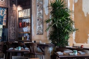 Lotus Room - новый ресторан в районе Патриарших прудов