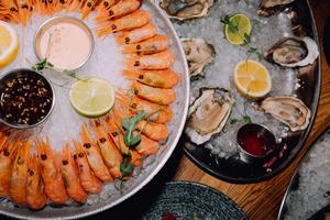 Свежие морепродукты с приятной скидкой при заказе навынос