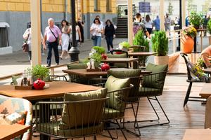 Летняя веранда ресторана «Мзиури»