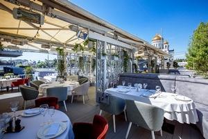 Веранда ресторана Pescatore