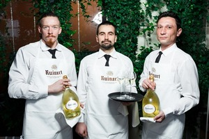 Chef Table Ruinart в ресторане Novikov Restaurant & Bar
