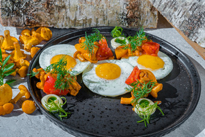 Вкусы русского лета в ресторане Uhvat на Трехгорке