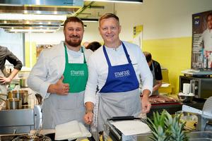 Уникальный гость в День повара в академии Stanfood на Дне открытых дверей