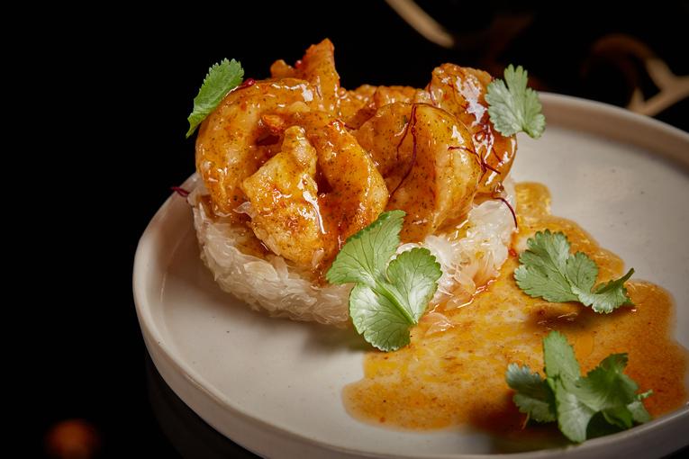Ресторан Black Thai, блюда
