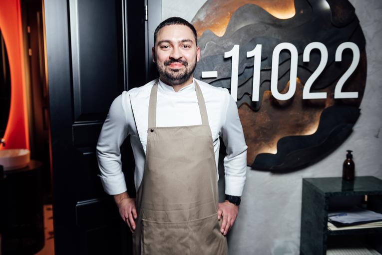 Шеф-повар ресторана «Глубина 11022» Василий Желтов