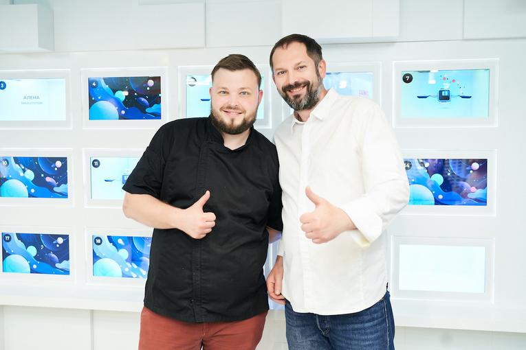 А.Мандрон и Д.Соболев