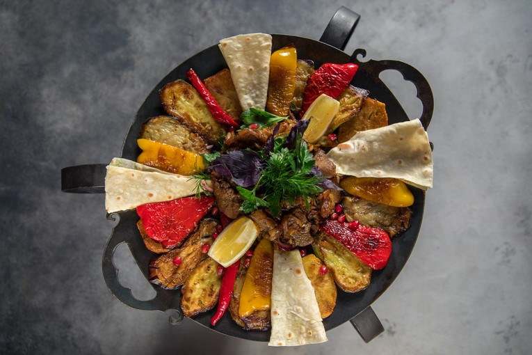 Ресторан Zafferano city, блюда