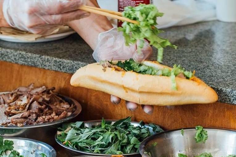 Сэндвич Бан Ми