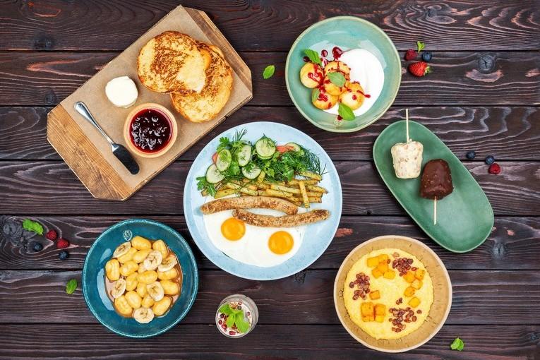 Ресторан «Банщики», завтрак