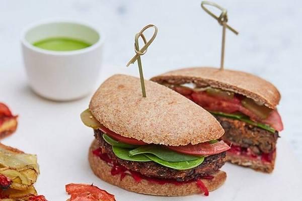 Вегетарианский бургер в КМ 20