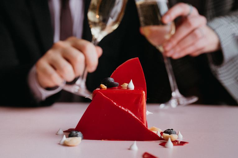 День святого Валентина в ресторанах Москвы