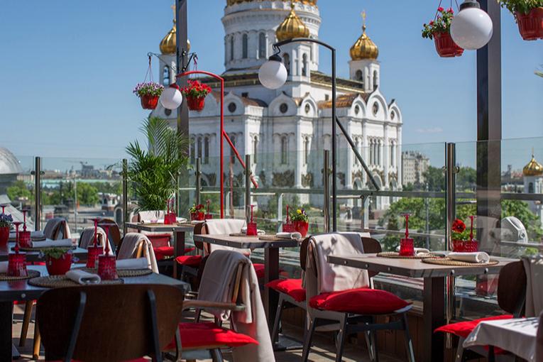 Ресторан «Воронеж», веранда