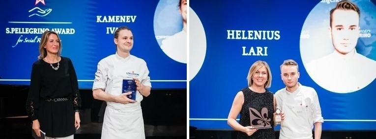 Иван Каменев, су-шеф ресторана «Рихтер» и Лари Хелениус, шеф-повар ресторана «Olo» в Хельсинки