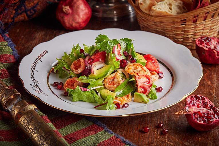 новинки с морепродуктами в ресторане «Кавказская пленница»