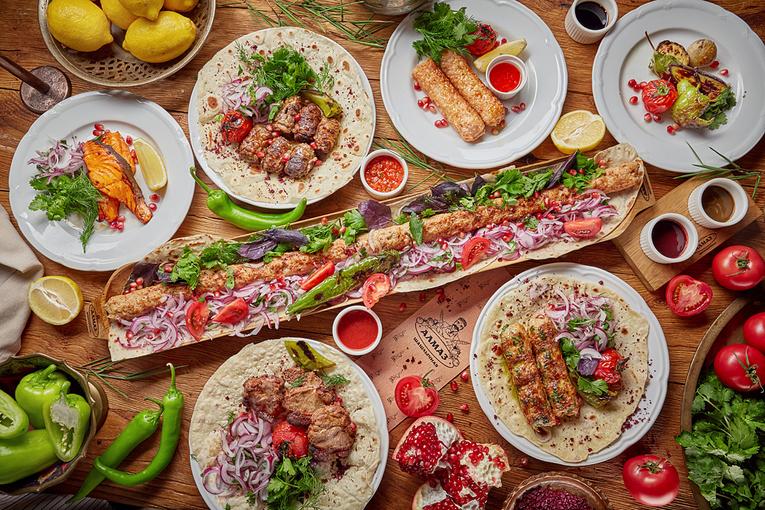 Фестиваль шашлыков и люля-кебабов, ресторан «Алмаз»