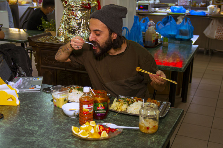Китайское кафе, ТЯК «Москва»