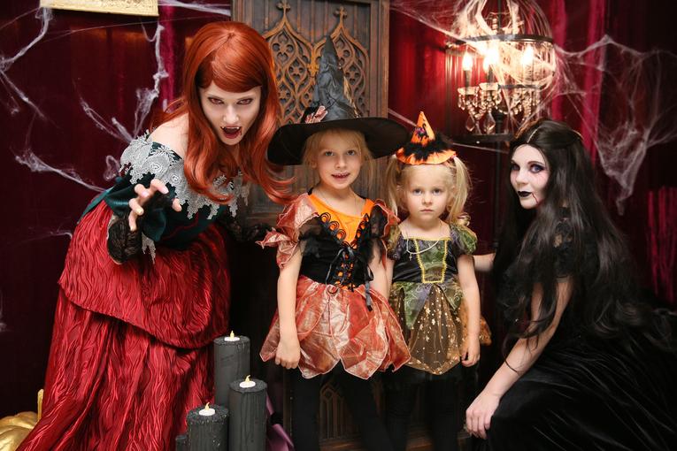 Halloween в ресторанах Москвы
