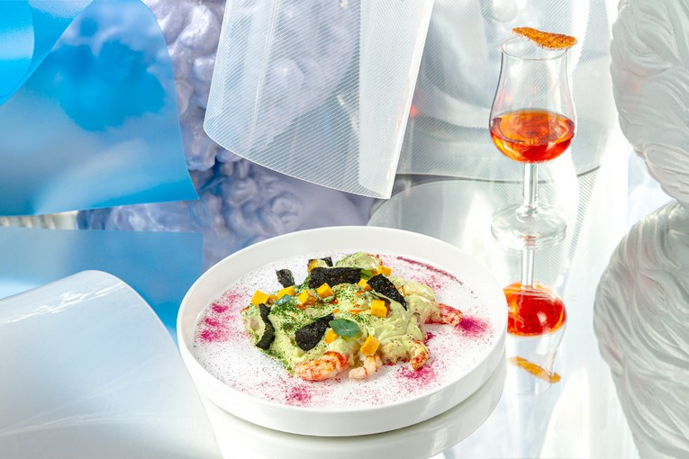 Сет Crystal Water Dinner