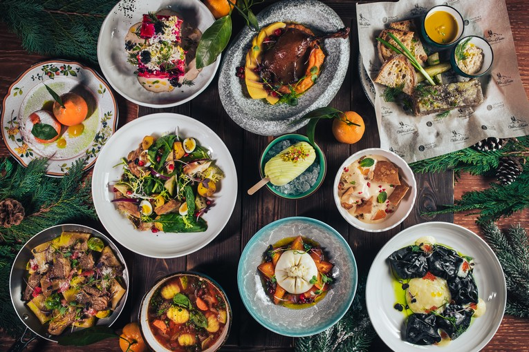 Новые блюда ресторана Villa Pasta на Пятницкой