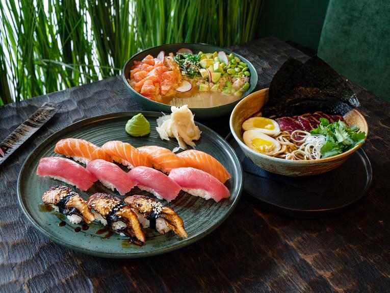 Eiwa: яркая гармония вкусов Азии в новом ресторане на Ходынке