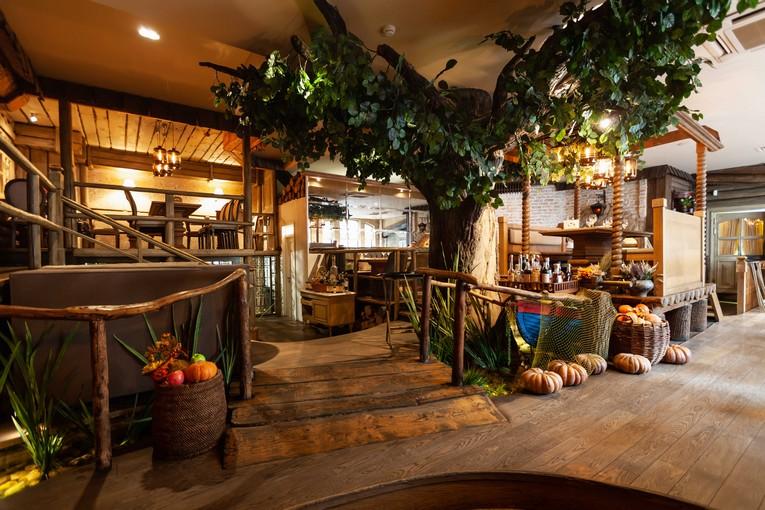 Ресторан «На мельнице», интерьер