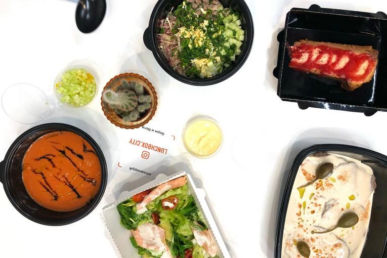 Lunch Box — приложение, еда, а также первое в России digital-кафе