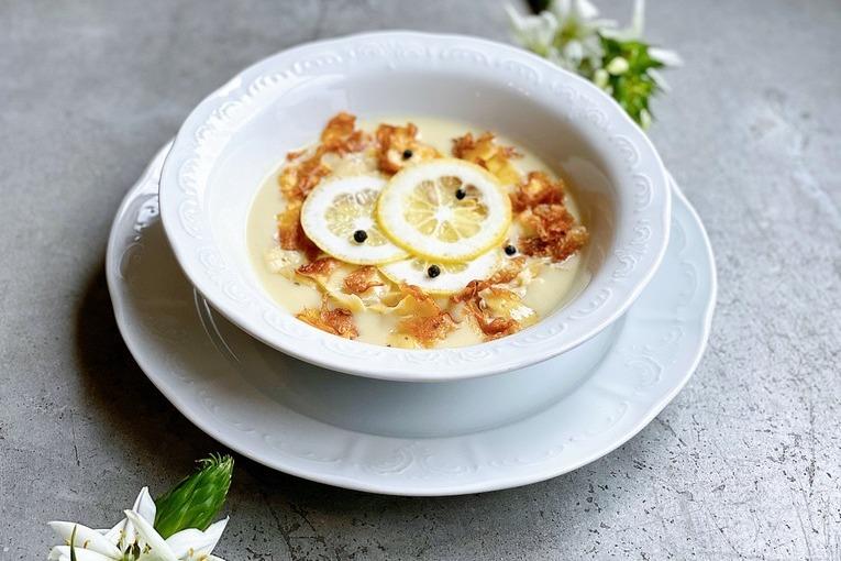 Холодный суп из артишоков (350 р.)