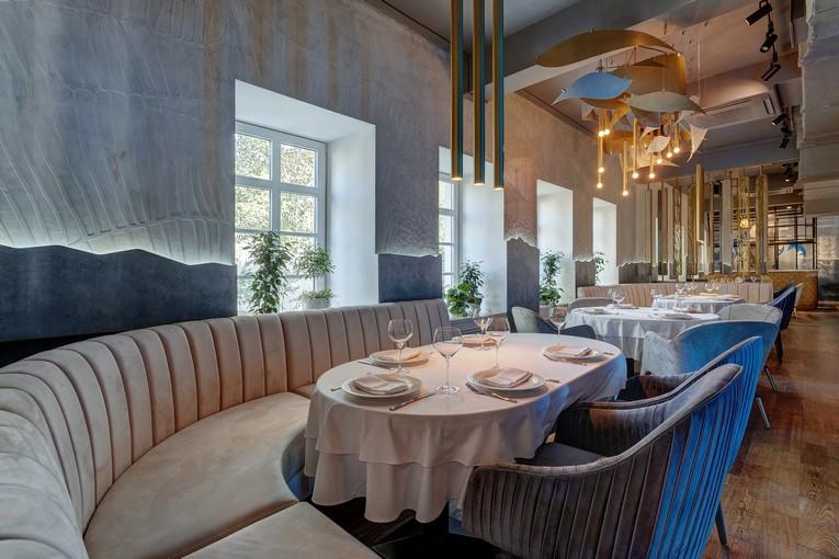 Ресторан Pescatore, обновленный интерьер
