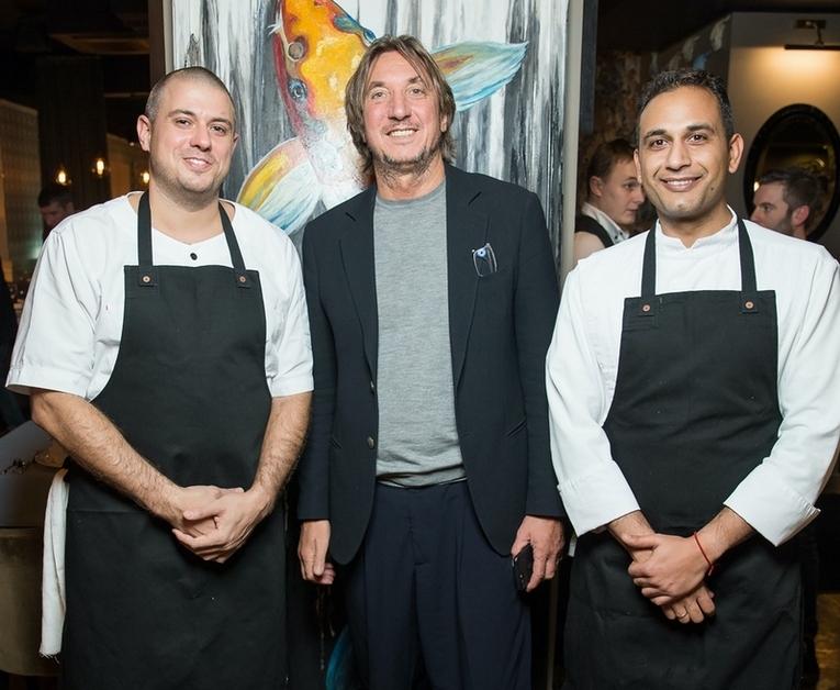 Гастроли шеф-повара ресторана Ronin (Hong Kong) Мэта Абергела из списка San Pellegrino's «50 Best Restaurants»