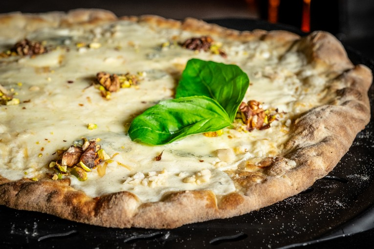 Пиццы в ресторане Rossini