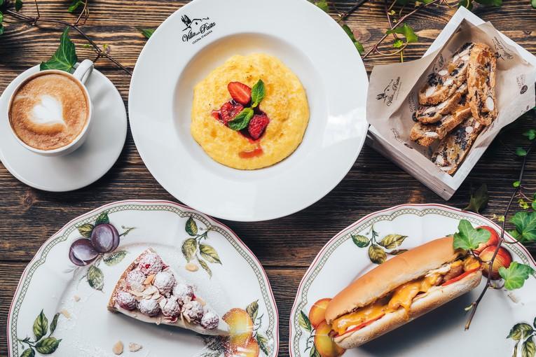 Настоящий итальянский завтрак в Villa Pasta