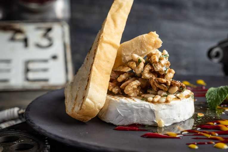 Гастропаб «Гаражане», блюда