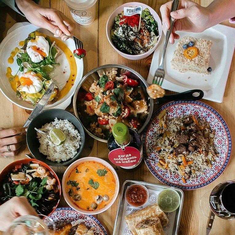 #хочуврек - рестораны в ТикТок