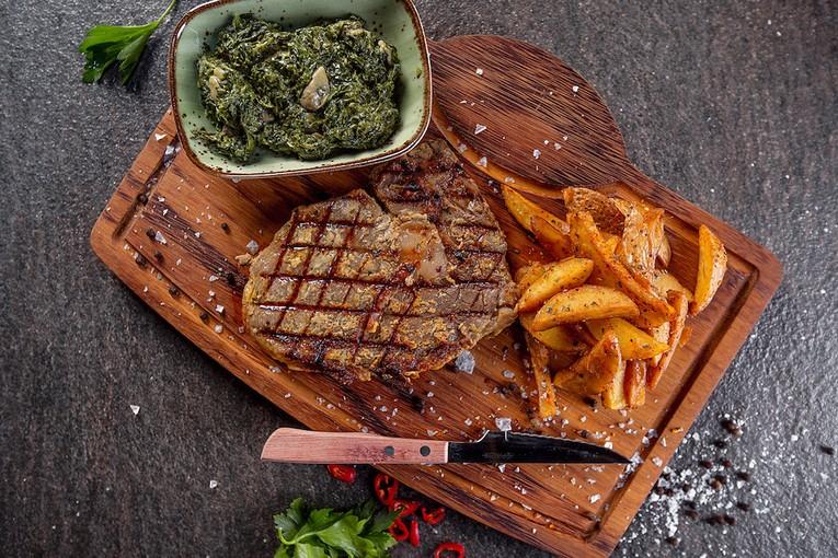 Ресторан Eleven Meathouse, блюда
