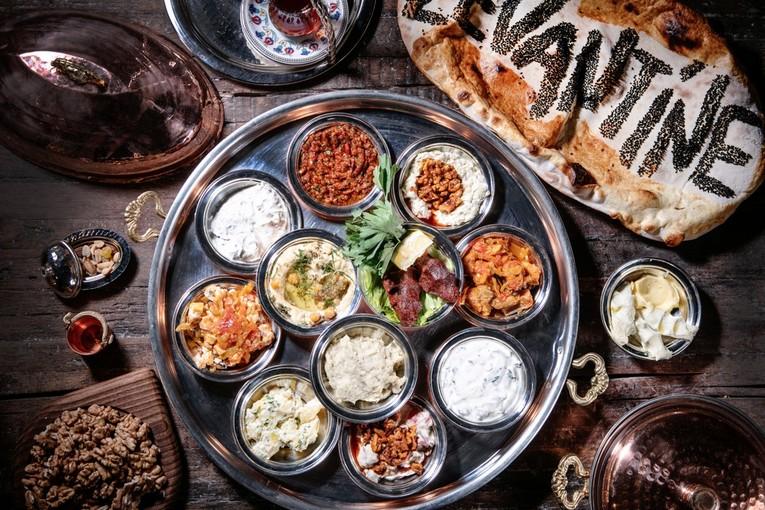 Новый год в ресторане Levantine