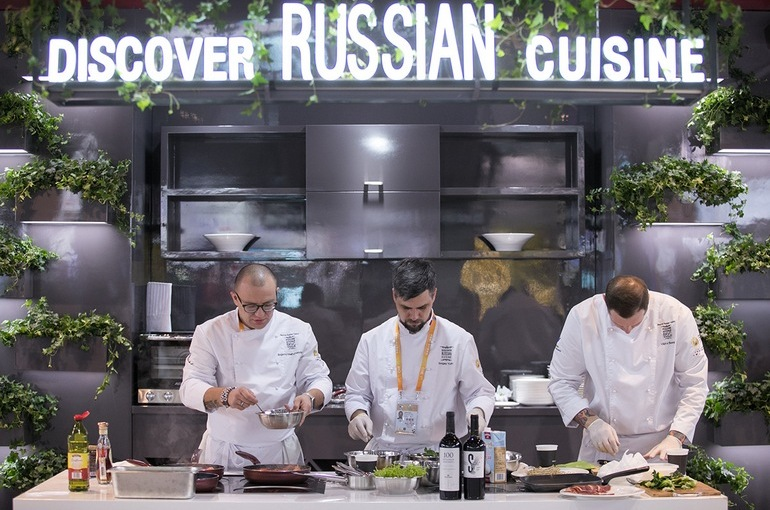 Фестиваль Discover Russian Cuisine
