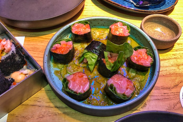 Советы Кэша: Американский взгляд на японские суши в Gorilla Sushi